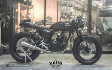 Kratos Cafe Racer Custom by ZEUS Custom