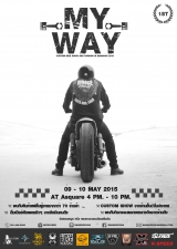 MY WAY !!! CUSTOM BIKE SHOW AND FASHION IN BANGKOK