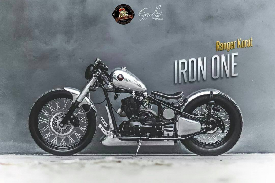 Iron one 250CC Custom By.Ranger korat