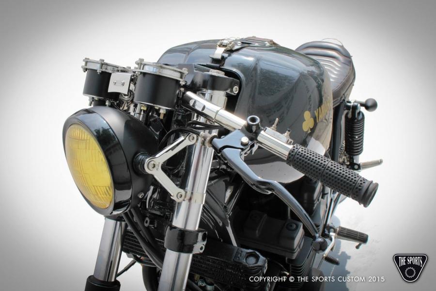 Yamaha XJR400 Cafe Racer - The Sports Custom