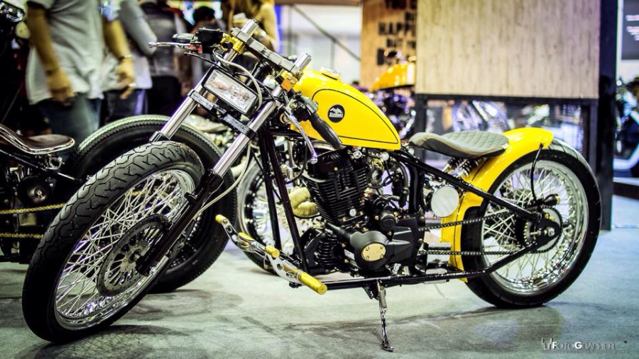 Iron one 250cc Custom by Dark Zero Bike Shop